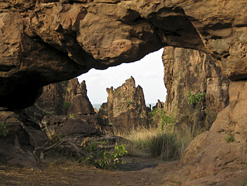 Burkina Faso, Sindou Rocks